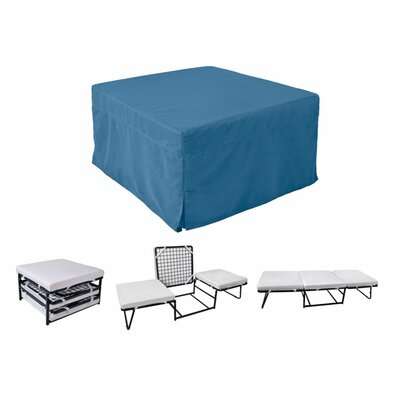 Where to buy ottoman sleeper folding bed color denim for Where to buy a matress