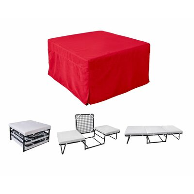 Glider Ottoman Color: Red