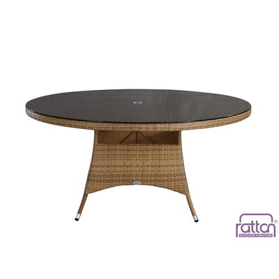 Brighton Dining Table Finish: Light Tan