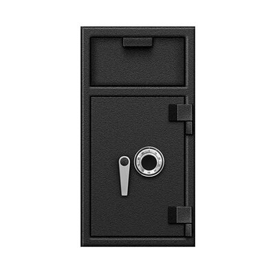B Rated Lock Front Hopper Lock Type: Combination Dial and Mechanical lock, Size: 27 H x 14 W x 14 D Product Picture 1560