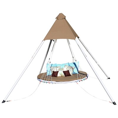 SkyBed Luxury Lounger Swing with Cushion