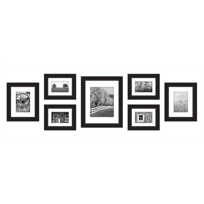 Gallery Perfect Ribbed 7 Piece Picture Frame 14W2334C