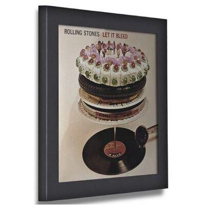 Pinnacle Record Picture Frame Color: Black AVPD01E