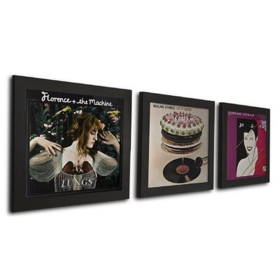 Pinnacle 3 Piece Record Picture Frame Set AVPD04E
