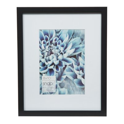Snap Picture Frame Color: Black, Size: 5