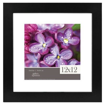 Gallery Solutions Float Picture Frame Color: Black