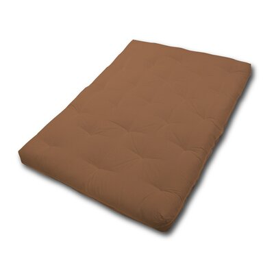 Box Cushion Futon Slipcover Upholstery: Khaki
