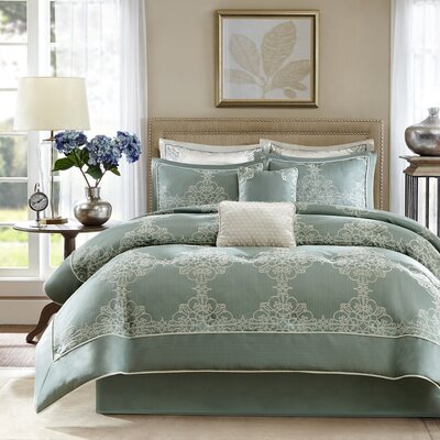 Newhaven 8 Piece Comforter Set Size: Queen