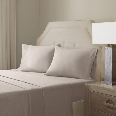 Sheet Set Size: King, Color: Natural