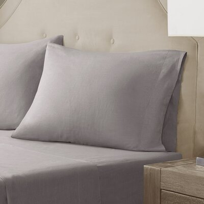Pillow Case Size: King, Color: Taupe