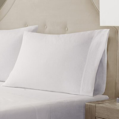 Pillow Case Size: King, Color: White