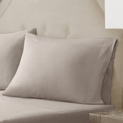 Pillow Case Size: King, Color: Natural