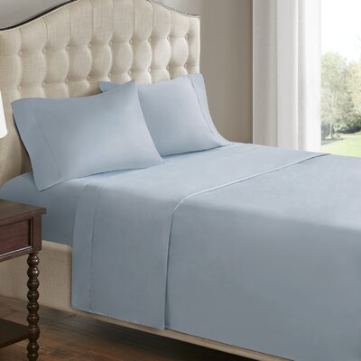 750 Thread Count 100% Cotton Sheet Set Size: Queen, Color: Blue