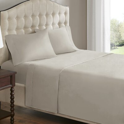 750 Thread Count 100% Cotton Sheet Set Size: Queen, Color: Ivory