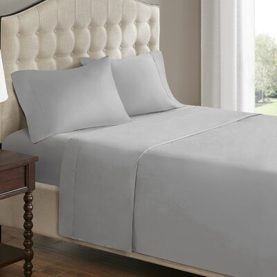 750 Thread Count 100% Cotton Sheet Set Size: Queen, Color: Gray