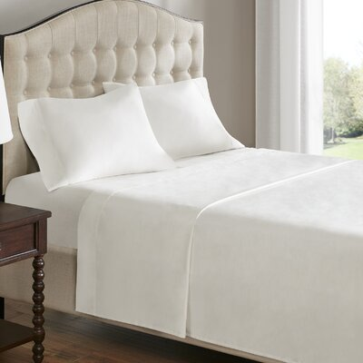 750 Thread Count 100% Cotton Sheet Set Size: Queen, Color: Linen