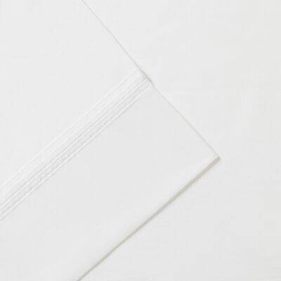 Signature Pima 600 Thread Count Cotton Sheet Set Size: King, Color: White