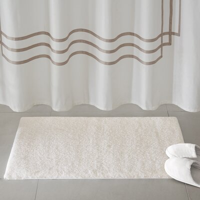 Marshmallow Bath Rug Size: 20 x 24, Color: Ivory