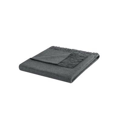 Cashmere Throw Blanket Color: Dark Gray
