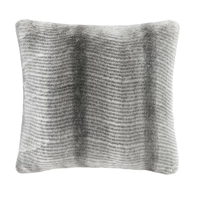 Serengeti Throw Pillow Color: Gray