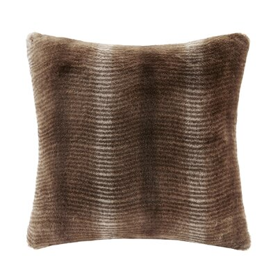 Serengeti Throw Pillow Color: Brown
