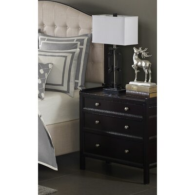 Madison 3 Drawer Nightstand