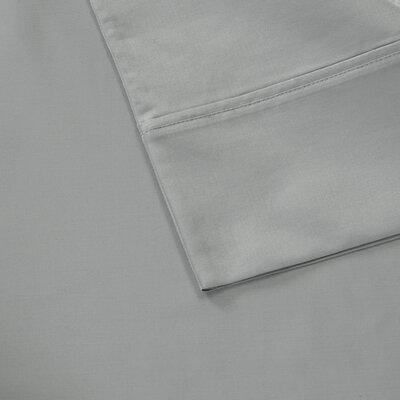 Oversized 600 Thread Count 100% Cotton Sheet Set Size: Queen, Color: Gray