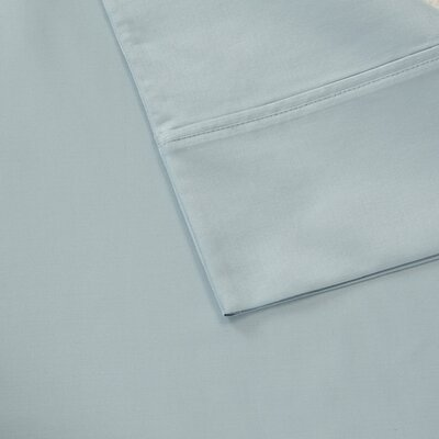 Oversized 600 Thread Count 100% Cotton Sheet Set Size: Queen, Color: Blue