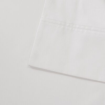 Oversized 600 Thread Count 100% Cotton Sheet Set Size: King, Color: White