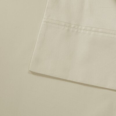 Oversized 600 Thread Count 100% Cotton Sheet Set Size: King, Color: Ivory