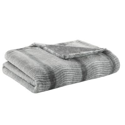 Serengeti Luxury Throw Color: Gray
