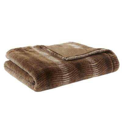 Serengeti Luxury Throw Color: Brown