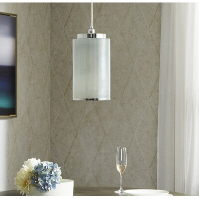 Omni 1-Ligh Mini Pendant Shade Color: White