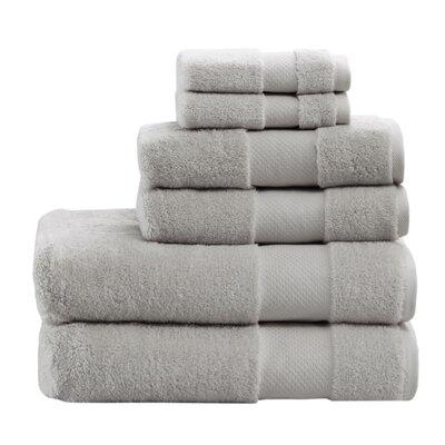Turkish 6 Piece 100% Cotton Towel Set