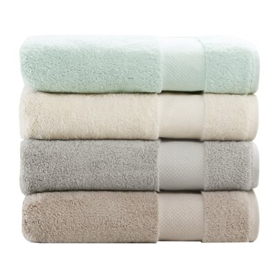 Turkish 6 Piece Bath Towel Set Color: Natural