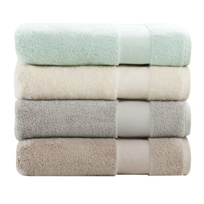 Turkish 6 Piece Bath Towel Set Color: Seafoam