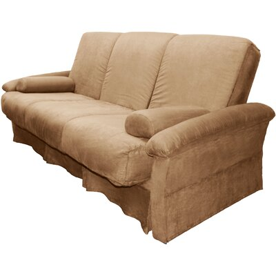 Perfect Sit N Sleep Futon Chair Size: Chair, Upholstery: Suede Khaki