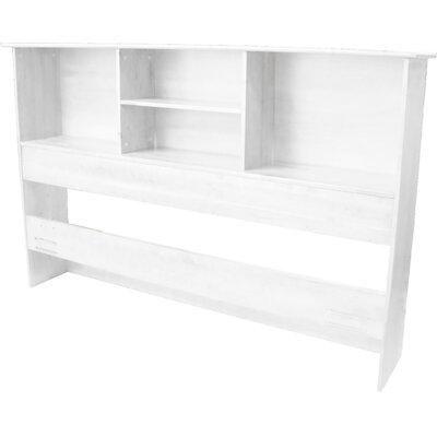 Epic Furnishings LLC Oslo Wood Bookcase Headboard - Finish: Mahogany, Size: King