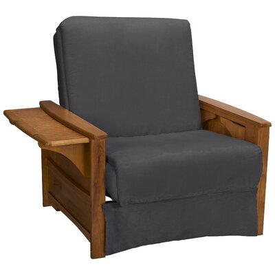 Valet Perfect Sit and Sleep Futon Chair Upholstery: Suede Slate Grey