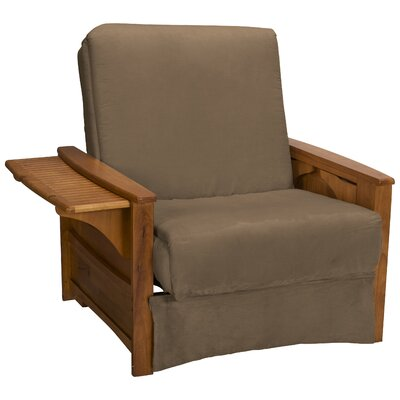 Valet Perfect Sit and Sleep Futon Chair Upholstery: Suede Mocha Brown