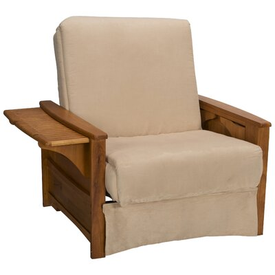 Valet Perfect Sit and Sleep Futon Chair Upholstery: Suede Khaki