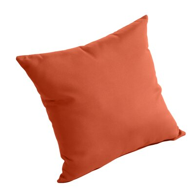 Isidore Outdoor Sunbrella Pillow Fabric: Brick