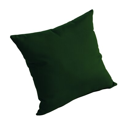 Isidore Outdoor Sunbrella Pillow Fabric: Forest Green