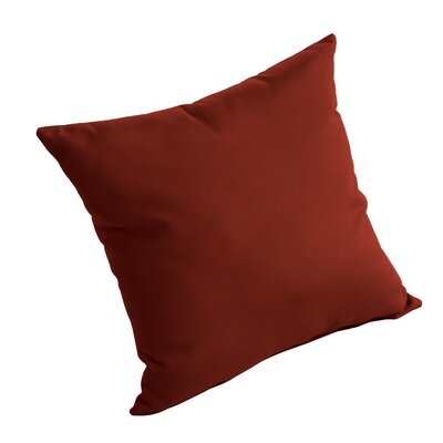 Isidore Outdoor Sunbrella Pillow Fabric: Terracotta