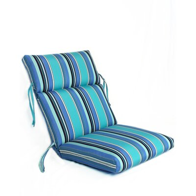 Waterfall Outdoor Sunbrella Lounge Chair Cushion
