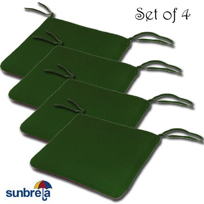 Knife Edge Outdoor Sunbrella Cushion Fabric: Palm