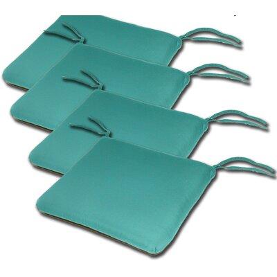 Outdoor Sunbrella Cushion Fabric: Aruba, Size: 2H x 20W x 18D
