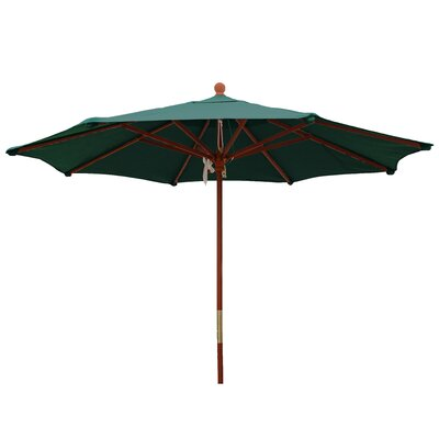 9' Market Umbrella Color: Forest Green W899M-FG