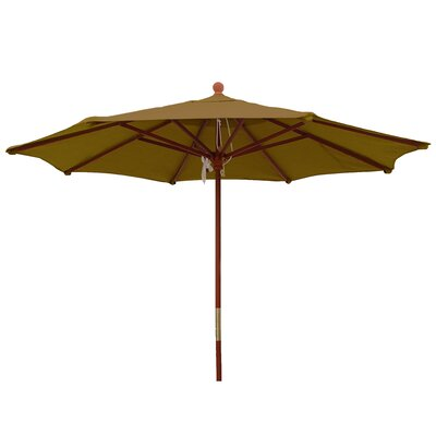 9 Market Umbrella Color: Brass