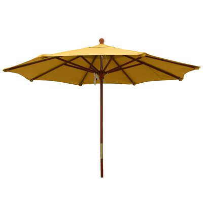 9 Market Umbrella Color: Sunflower